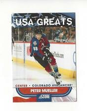 2010-11 Score USA Greats #14 Peter Mueller Avalanche