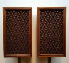 Vintage Pioneer Model CS-88 3-Way 5 Driver Monitor Loudspeakers, Lattice Grilles