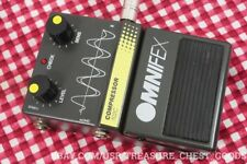 RARE Omnifex Compressor 702C Professional Pedal Guitar Vocals Effects FX TESTED
