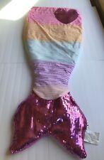 Cynthia Rowley Sequins and ��Mermaid Tail Sleeping Bag Gently used fleece lined