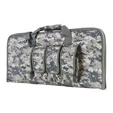 "NcStar Vism CVCP2960D ACU 28"" Padded Lockable Subgun Rifle Gun Case Mag Pouch"