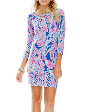 Lilly Pulitzer Sophie Dress Shrimply Chic UPF 50+ Size S New