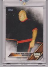RAREST 2016 TOPPS WWE GEORGE THE ANIMAL STEELE TRUE 1/1 CARD ~ WWF ~ WRESTLING