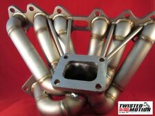 "TWISTED MOTION 2JZ VVTI TURBO MANIFOLD SCHEDULE 40 ""IRONMAN"" T4 IS300 GS300"