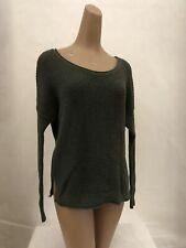 Hollister, Women's Pullover Sweater, Green, Medium Preowned