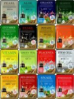 Korean Face Mask Sheets Pack Facial Hydrating Essence Skin Full Care Cosmetic #F