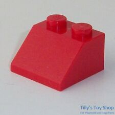 10 x Lego ® 3039 system bricks roof tiles 2x2 in neuhellgrau New Item