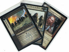 Lord of the Rings ccg Battle of Helm's Deep: 3x rare cards libre elección Lot