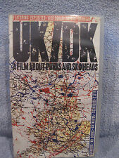 UK/DK - A Film About Punks and Skinheads (VHS) 1994 NEW