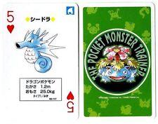 POKEMON JAPONAISE 1996 THE POCKET MONSTER TRAINER N°  117 SEADRA HYPOCEAN