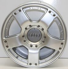 CERCHIO IN LEGA AUDI A6 ALL ROAD 7,5 x 17 ORIGINALE RIVERNICIATI 4Z7601025