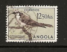 ANGOLA # 350 Used BIRDS IN NATURAL COLORS (2)