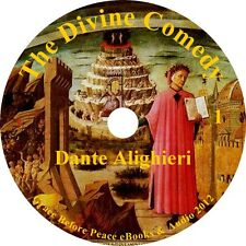 The Divine Comedy Classic Audiobook by Dante Alighieri on 1 MP3 CD Free Shipping