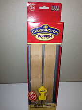 Thomas or Chuggington Wooden Wobbly Track -2 Pack w/Caution sign NIP- from USA
