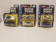 3 Maisto Motor Works 2 Car Packs MOC BMW Z8 Jaguar XK8 #2 #31 #22