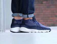 NIKE AIR FOOTSCAPE WOVEN CHUKKA SE Trainers - UK 12 (EUR 47.5) Wool & Denim Blue