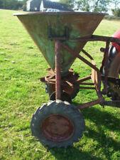 More details for lister blackstone fertiliser spreader spinner, vintage, classic, seed, lime