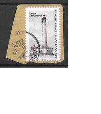 2019 timbre oblitéré en parfait état c rond  ; phare de Dunkerque