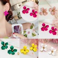 Chic Women Flower Peony Earrings Stud Drop Dangle Party Wedding Summer Hot Gift