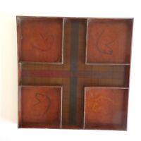 Jeu de petits chevaux bois fait main vintage art déco design PN France N2280