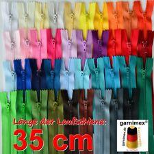 Reißverschlüsse 35 cm - 39 Stk. sortiert 39 Farben (0,35 EUR/Stk.)