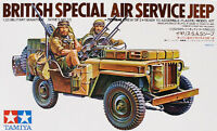 Tamiya 35033 1/35 Scale Model Kit British SAS Special Air Service Jeep CA133
