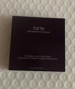 TARTE Amazonian Clay 12-Hour Blush In DOLLFACE Full Size 5.6g NWB