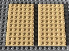 LEGO SPARES PARTS 3033 Tan 6x10 Plate X2 FREE 1st Class Post!