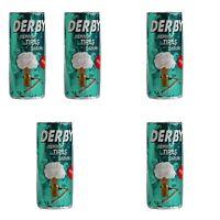 Derby Shaving Soap Stick- 5 Soap Sticks Each 75gr. Excellent Lather/Fast Postage