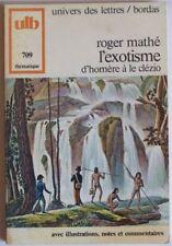 L EXOTISME D HOMERE A LE CLEZIO   ROGER MATHE
