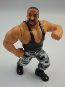 Figurines vintage catcheur Butch Buschwackers WWE WWF HASBRO 1991 Titan sport