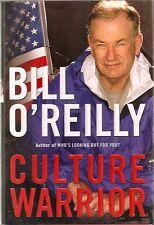 "C934 Culture Warrior Bill O""Reilly Hardback Book Political"