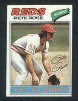 1977 Topps #450 Pete Rose NM/NM+ Reds 121136