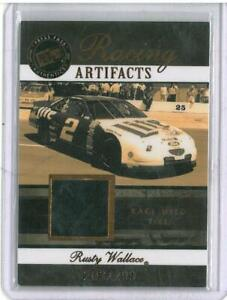 2007 Press Pass Legends Racing Artifacts BRONZE TIRE #RWT Rusty Wallace 203/299