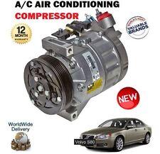 Per VOLVO s80 2.0 2.5t 2.0tdi d5 2.4d 2006 - > NUOVO compressore ad aria condizionata CONDIZIONAMENTO