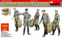 Miniart 35192 German Artillery Crew Special Edition Free Shipping 1/35 Scale Kit