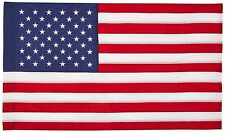3x5 United States Embroidered Sewn Flag 3'x5' House Banner Pole Sleeve 210 Nylon