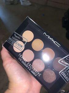 Authentic MAC Travel Exclusive Eyeshadow Palette (8x Eyeshadow) - Amber 12g Sets