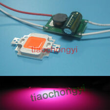 10w Constant Current LED Driver 12v + 10w full spectrum led grow chip 380-840nm