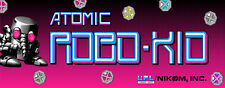 Atomic Robo Kid Arcade Marquee For Reproduction Header/Backlit Sign
