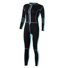 Women 3mm Neoprene Diving Suits Snorkeling Surfing Rash Guard Warm Wetsuits