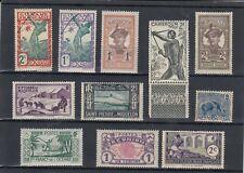 timbres France Guyane stpierre et miquelon réunion  neuf *
