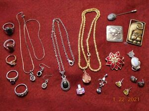Nice Mixed Lot of Sterling and Fashion Jewelry