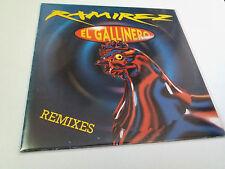 """RAMIREZ """"EL GALLINERO (REMIXES)"""" MAXI 12"""" LP VG/EX MBE/EX"""
