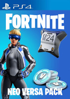 (PS4) Fortnite Neo Versa+500 V-Bucks (US) [digital game PSN] (Key sent by email)