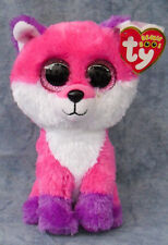 """Ty Beanie Baby Boos - Joey The 6"""" Fox Claires 2016 MWMTS"""