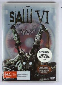 Saw 6 VI DVD Uncut FREE POST