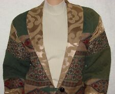 "Flashback Tapestry Jacket SIze M Bust 40-42"" Western Quilted"