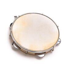 Capoeira Leather Pandeiro Drum Tambourine Samba Brasil Music Instument 3 sizes