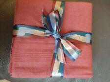 Brand New 4 Men's Burgundy Handkerchiefs
